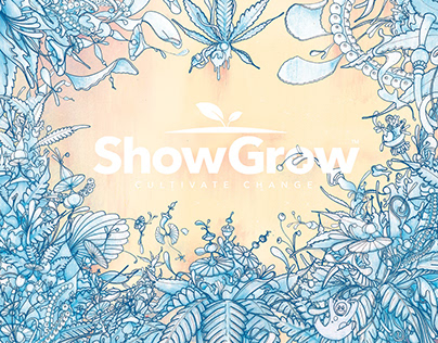 Packaging Illustration for ShowGrow