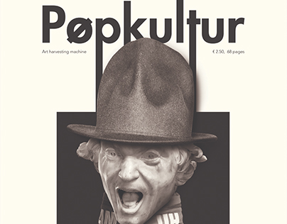 Popkultur Magazine Cover Design