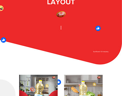 Floil - Social Media Layout