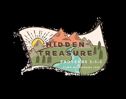 Hidden Treasure Summer Camp Logo and Brochure