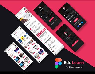 EduLearn(An e-learning app)