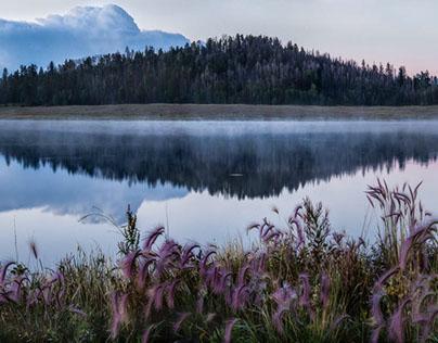 Mountain Morning on the Lake