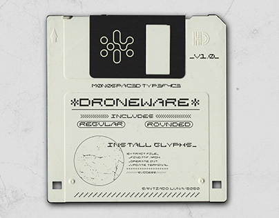 //Droneware Typeface//