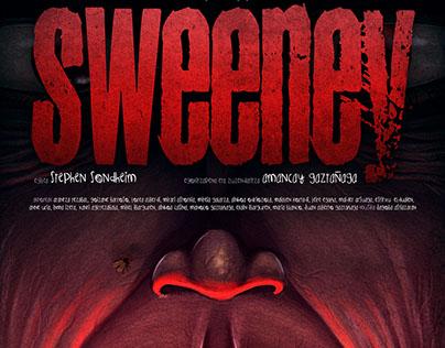 Sweeney poster design + process