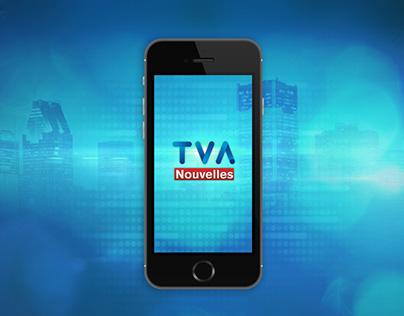 TVA Nouvelles - refonte web