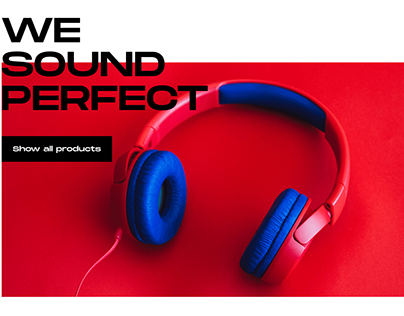 Sound Shop Design site