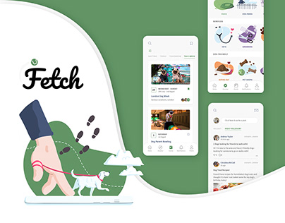 Fetch - Social App for Dog Owners