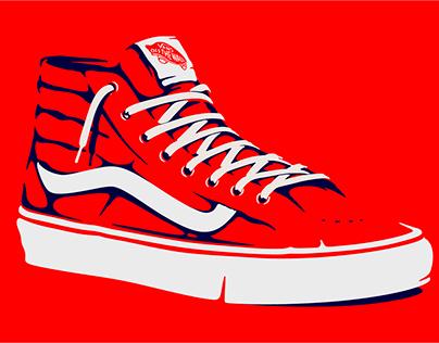 Vans SK8 Hi™ Tribute Poster Series.