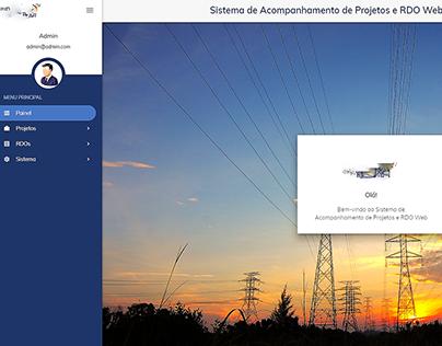Sistema de acompanhamento de projetos e RDO web