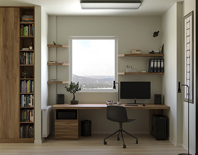 Home office - workstation
