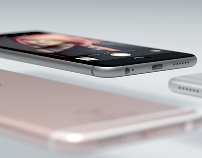 IPhone 6S - Rendered with Solid Angle Arnold
