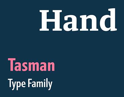 Tasman type family