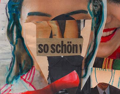 so schoen! - so nice! // Analog Collage