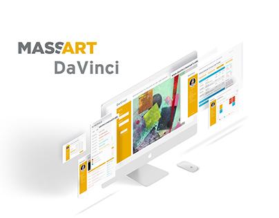 DaVinci Redesign Concept | UI Design