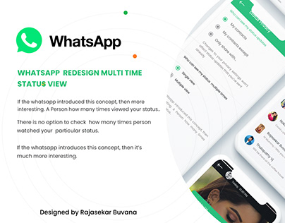 Whatsapp Upcoming Features -Status View