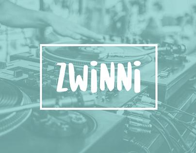 Zwinni - Event Agency visual identification