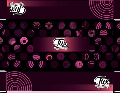 Tux tissue box layflat design