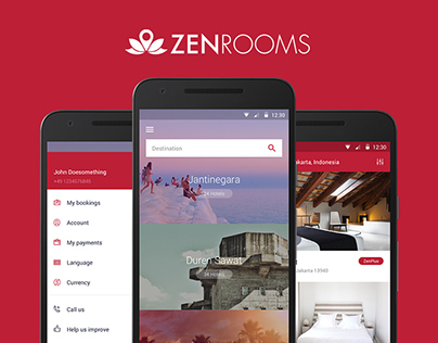 ZenRooms - android hotel booking app