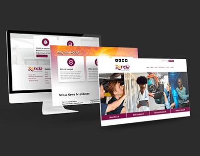 NCLA-CTE Website Redesign