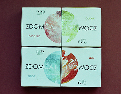 ZDOMČAJ / Tea packaging