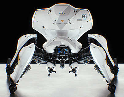 Tachikoma Concept - Ghost in the shell