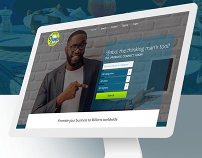 9jaBD Logo & Website Redesign
