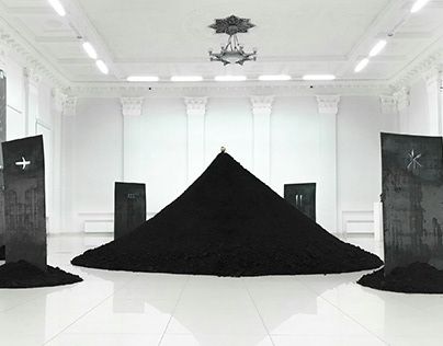 "Total installation ""Masks"""