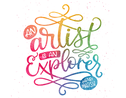 Instagram Lettering Projects