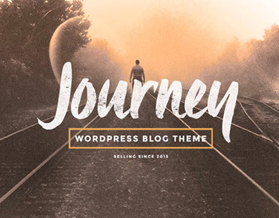Journey - WordPress Blog Theme