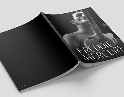 Freddie Mercury Concept Brochure