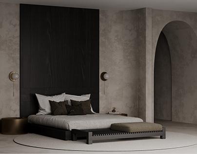 Biege Bedroom