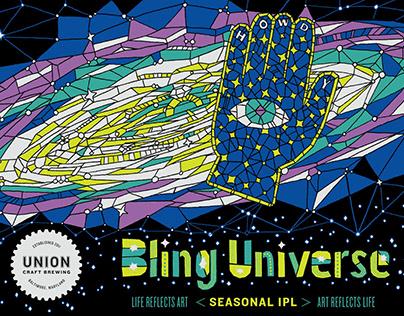 Bling Universe label design
