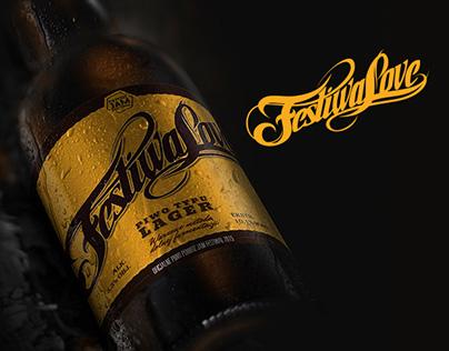 Branding and bottle etiquette design - FestiwaLove