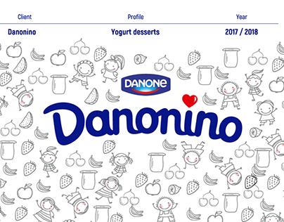 Danonino - Social Media Design