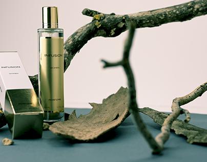 Slim Perfume Box/Bottle Mockup