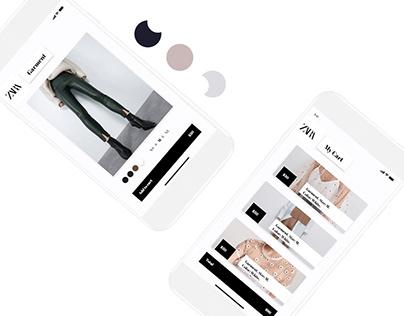 Zara | UI Redesign