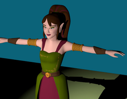 Character Animation for Maya/3d Animation Class