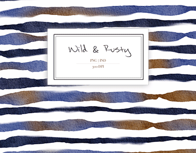 Wild & Rusty Fabric Design