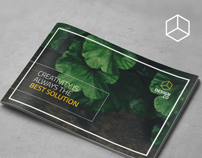 A5 Creative Brochure Template Vol. 01