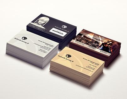 Salonik Iwony R Logo, wizytówki Logo, Business Card