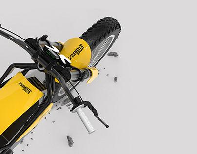 Ducati Scrambler Electro concept