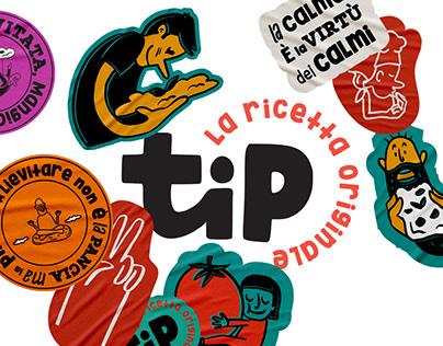 tiPinso - Rebranding