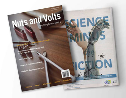 Nuts and Volts Magazine Redesign