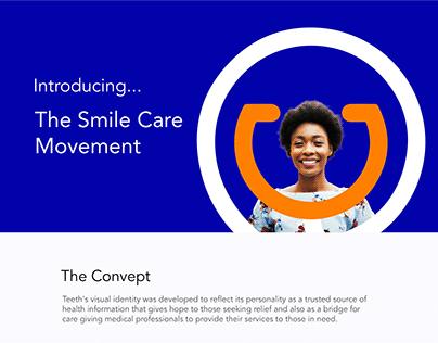 Logo design in kenya for Teeth.co.ke
