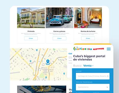 UI/UX & for Cubisima
