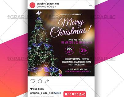 Merry Christmas – Animated Flyer PSD Template
