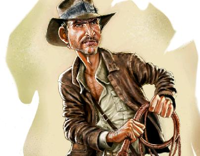 Indy caricatura