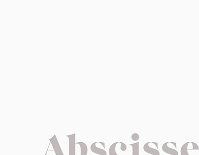 Abscisse | Architect