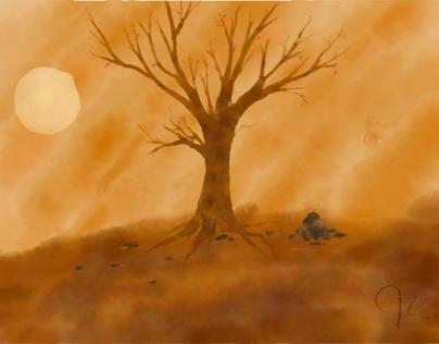Night Tree, Autumn