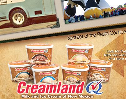 Creamland Dairy - 2011 International Balloon Fiesta Ad
